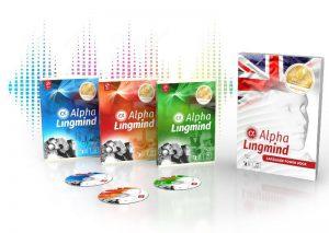 Cum face secțiunea Alpha Lingmind? Câte limbi are?